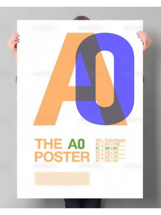 A0 Posters - 135gsm from 69p each!