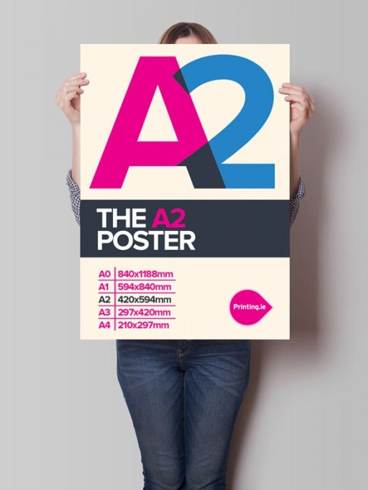 A2 Posters - 135gsm from 12p each!