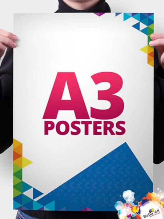 A3 Posters - 135gsm