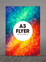 A3 Flyers 135gsm