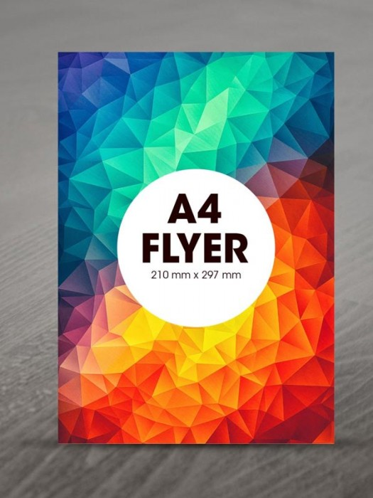 A4 Flyers 135gsm
